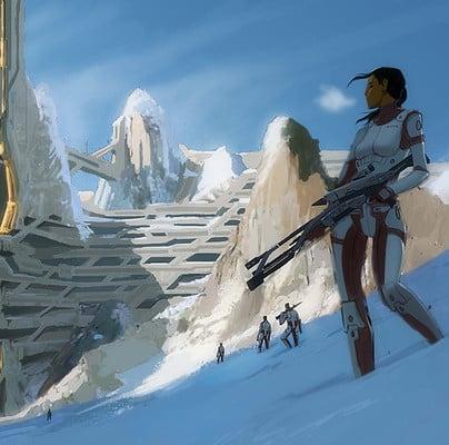 Matt rhodes snowscape