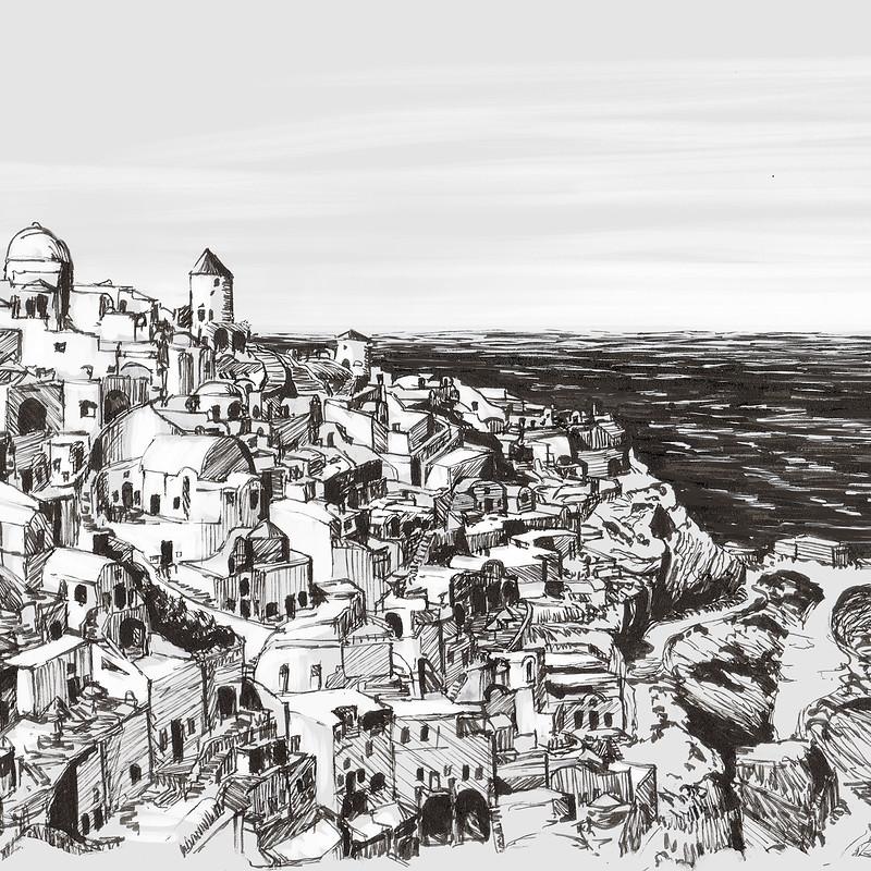 Ink Drawings II