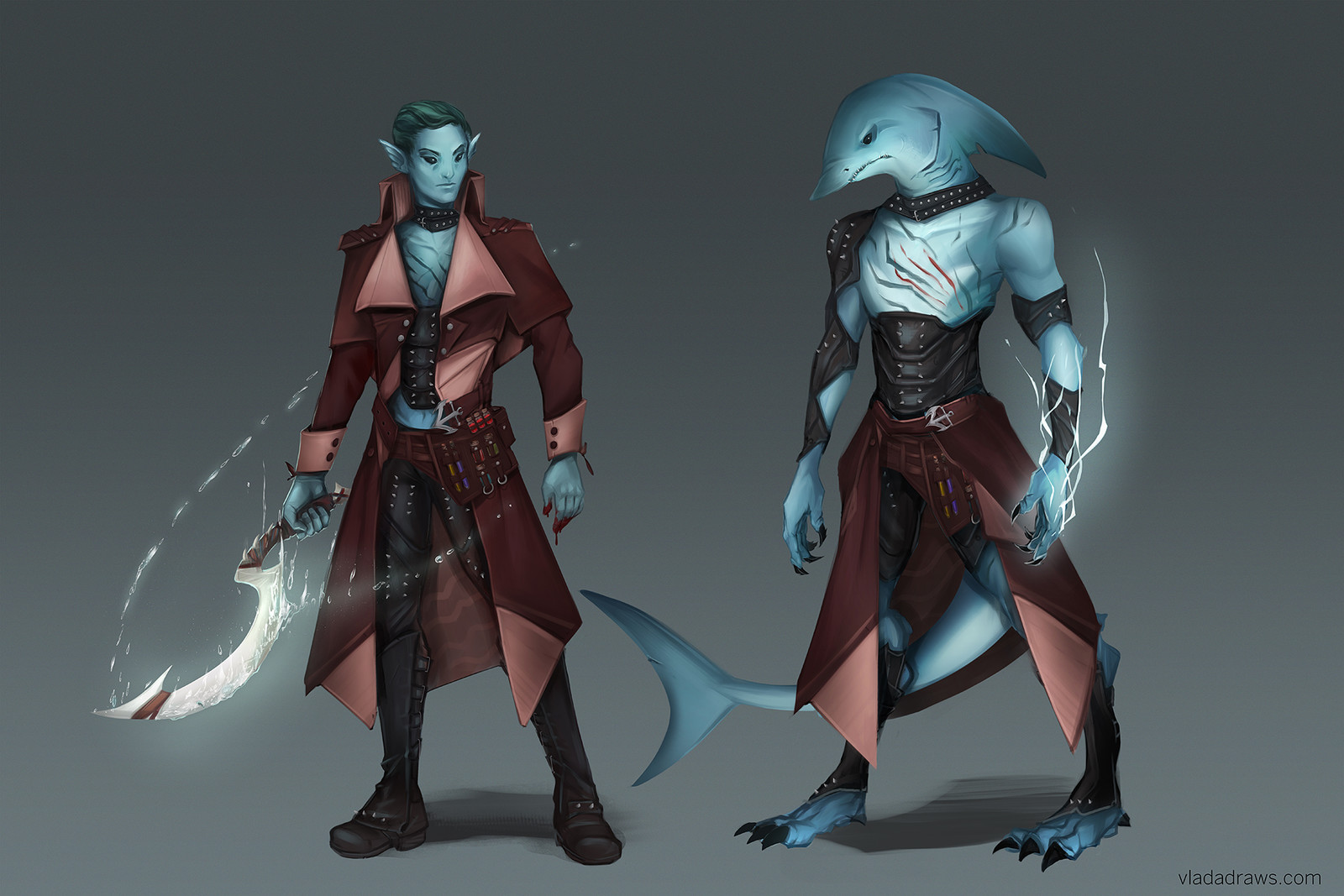 Water Genasi Blood hunter