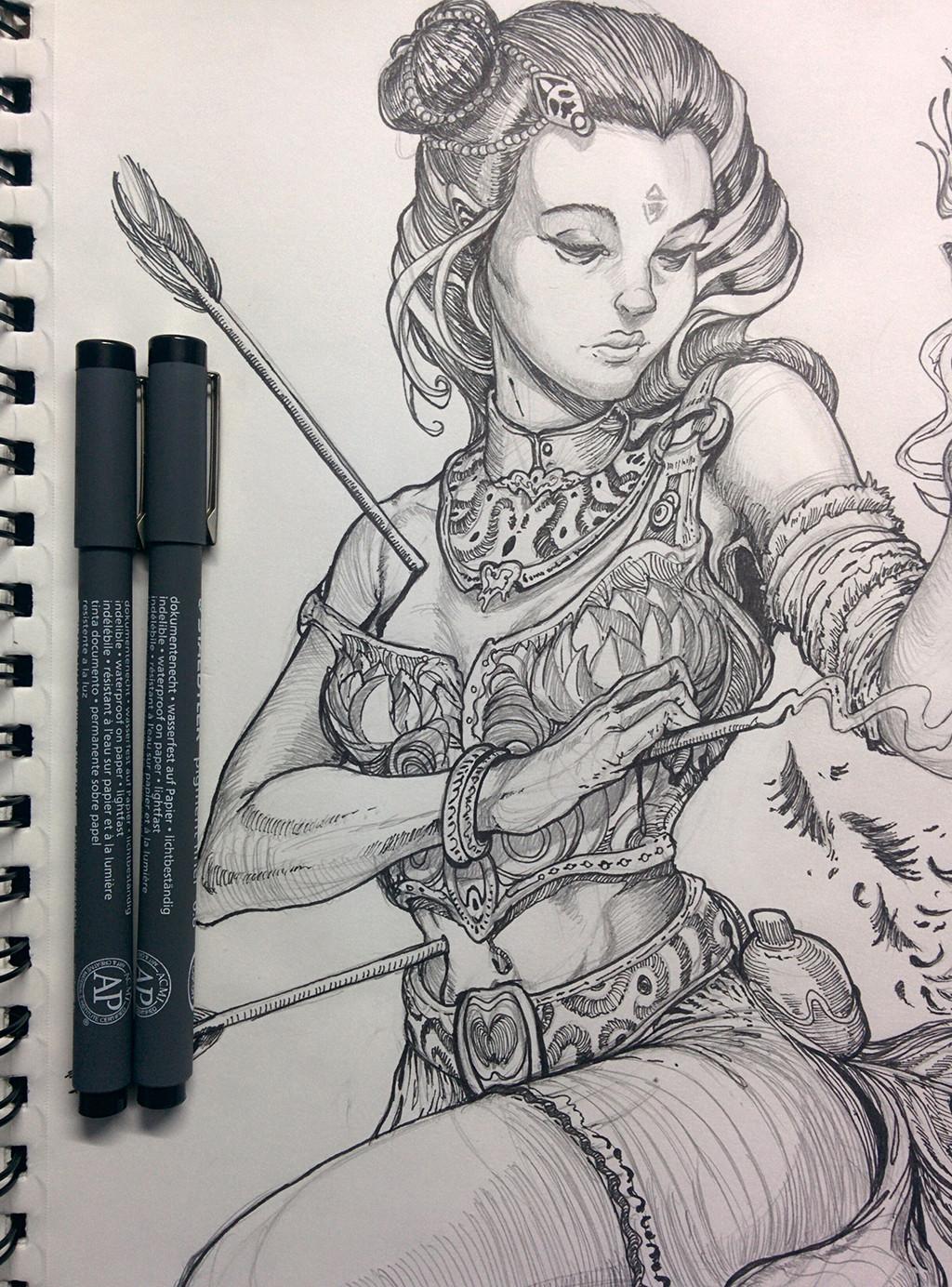 Self healer (sketchpad)