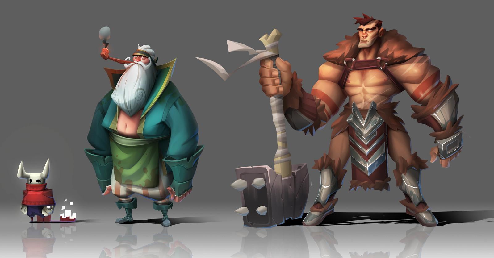 Big Bad Bounty Characters
