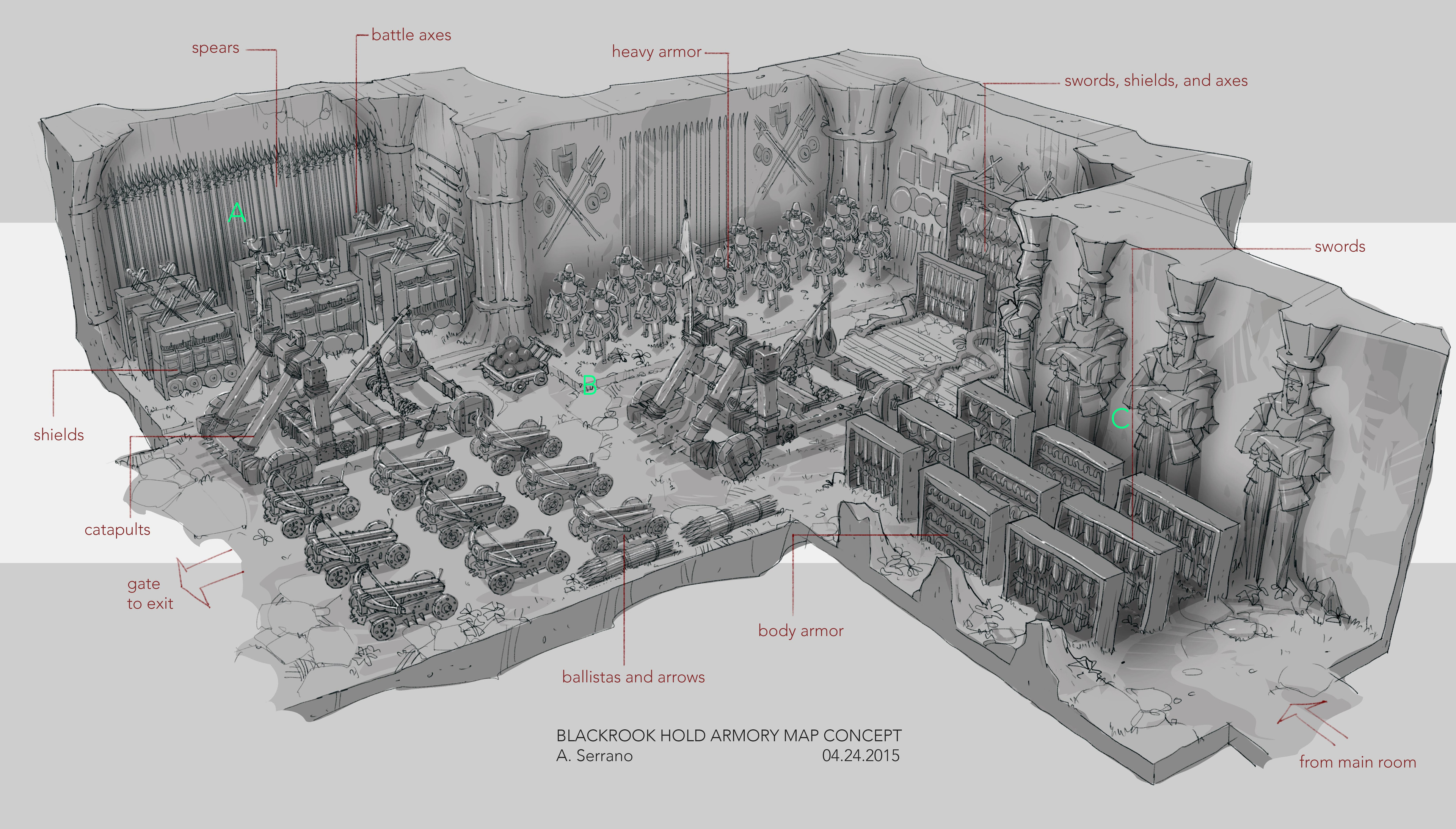 Armory Layout Concept