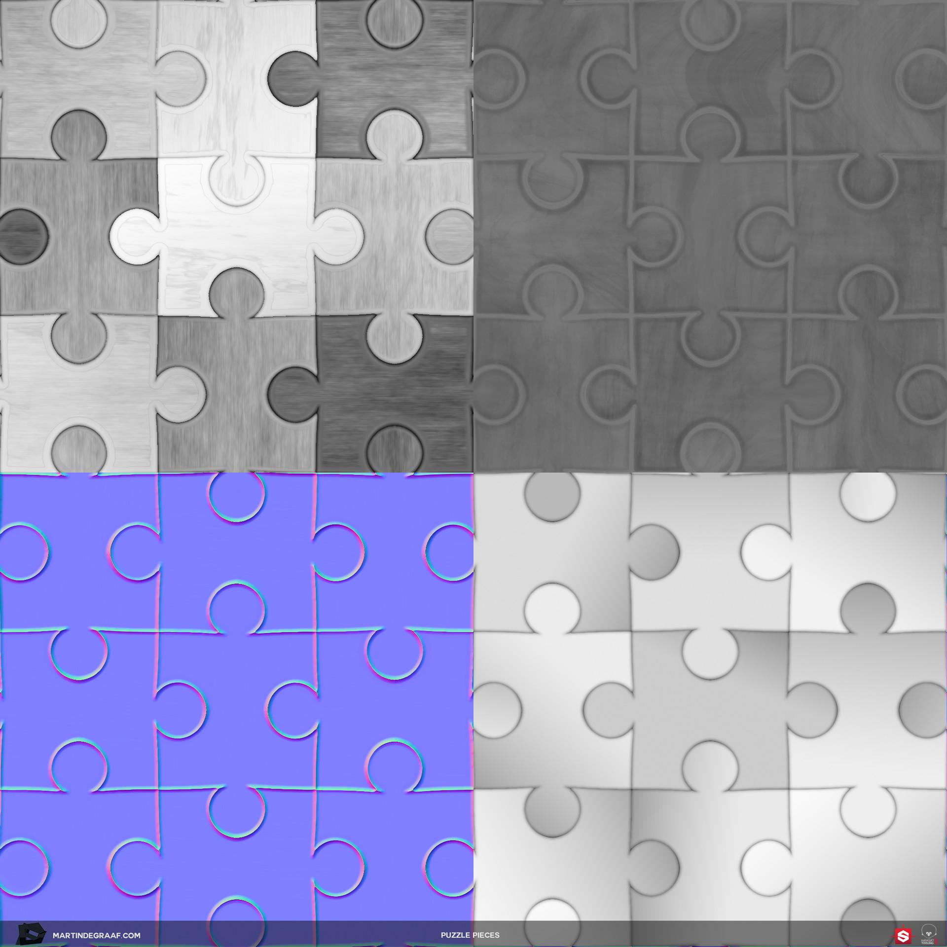 Martin de graaf puzzle pieces substance texturesheet martin de graaf 2018