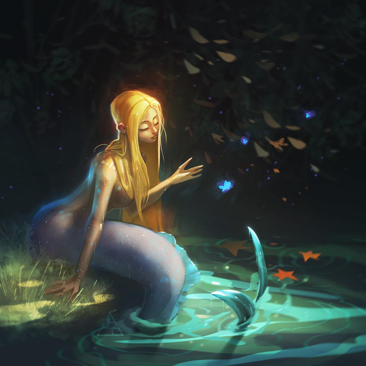 James brouwer mermaid butterflies