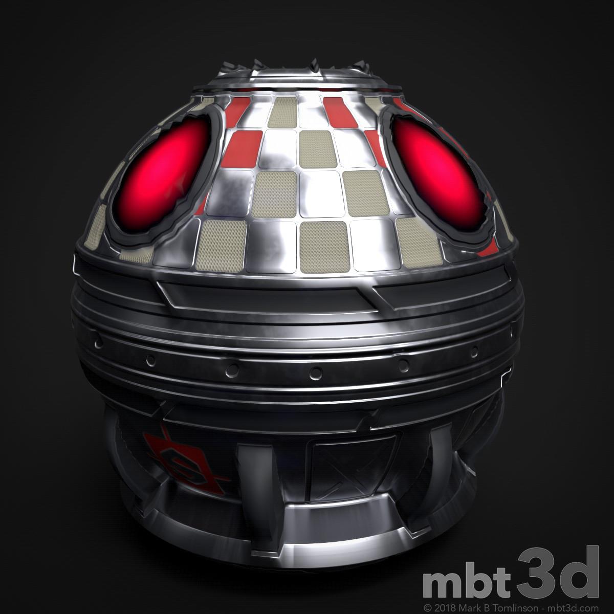 Sci-Fi Capsule - Sphere