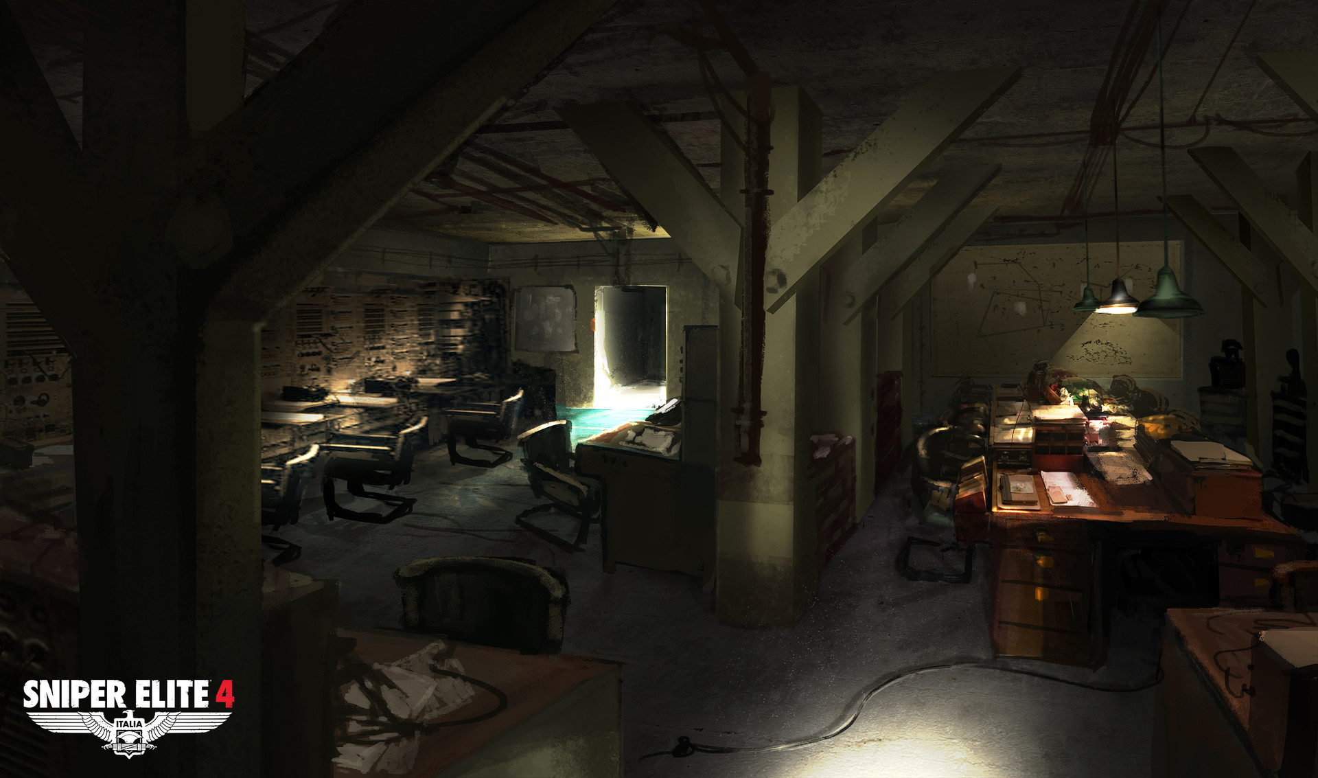 Jack eaves coastal facility radar basement concept 01