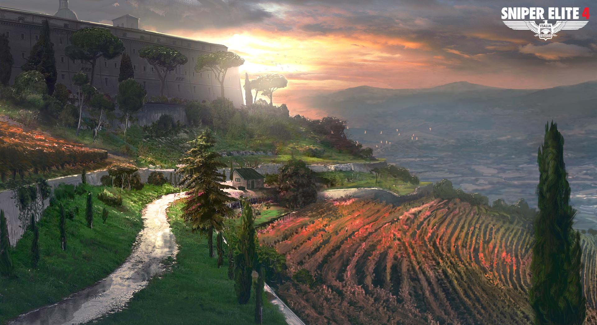 Jack eaves monte cassino vineyard