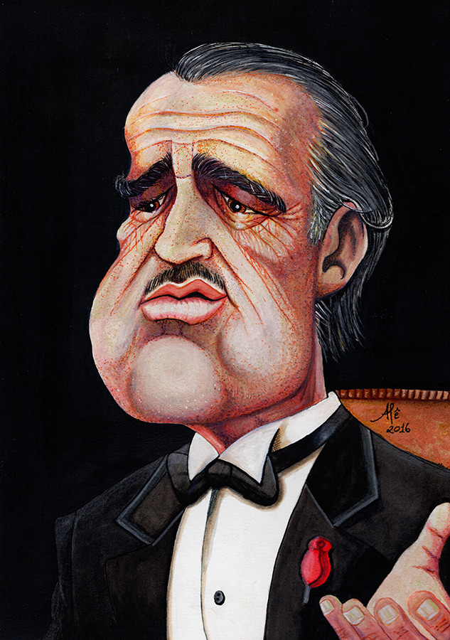 Artstation the godfather don corleone alessandro marques by al marques thecheapjerseys Choice Image