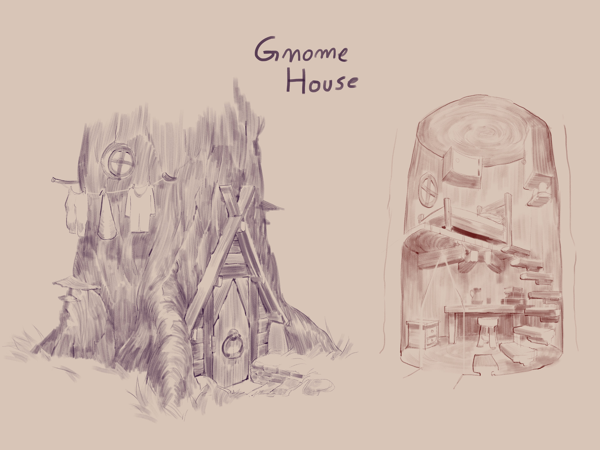 Pedro kruger garcia gnome house exploration