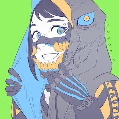 Koyori n oni mask 2