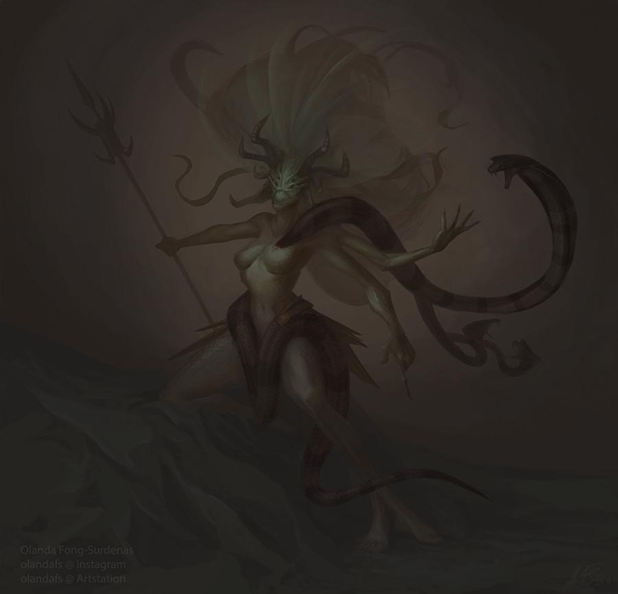 Artstation Elder Scrolls Online Fanart Vaermina Olanda Fong