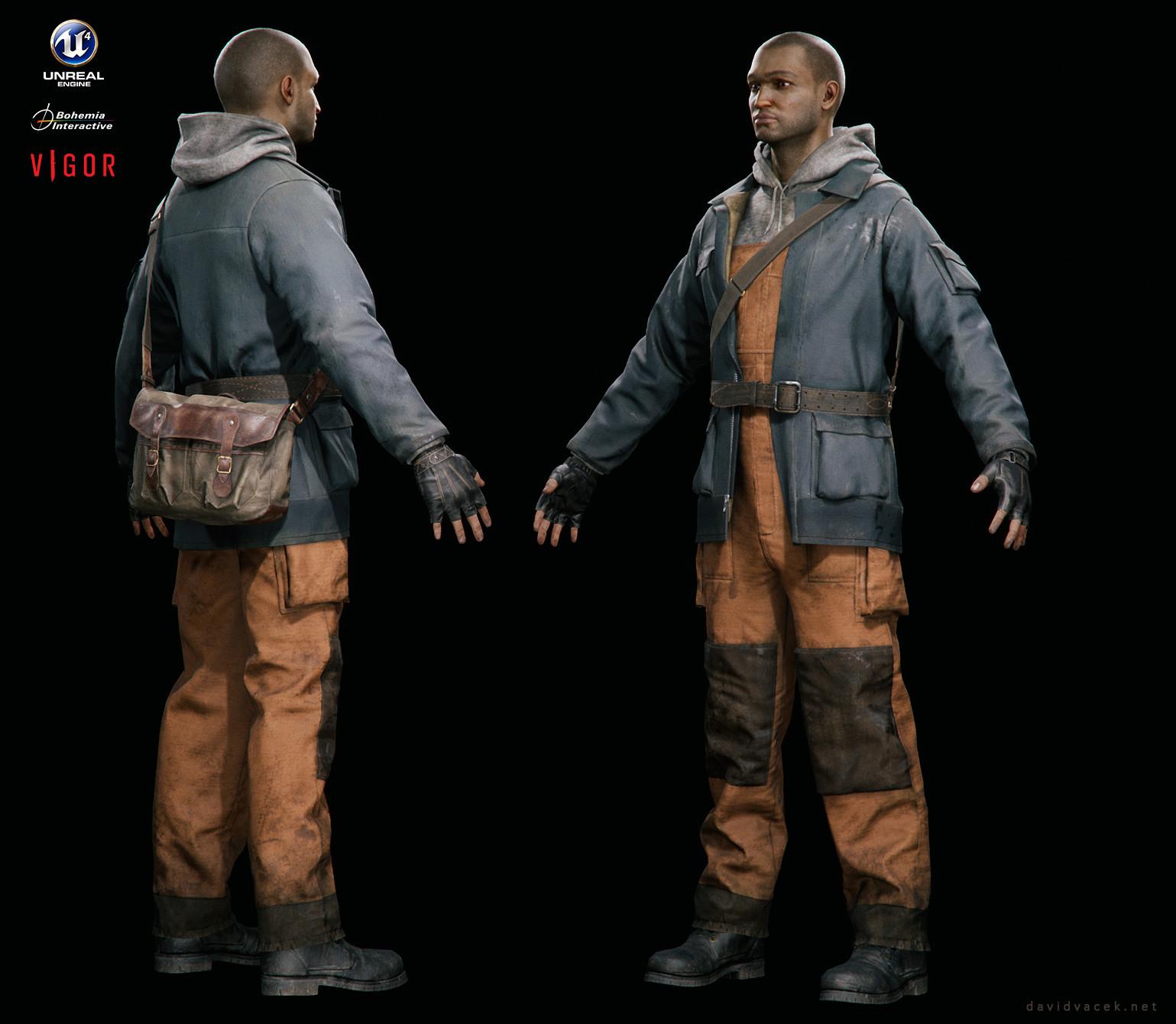 ArtStation - Vigor - Worker uniform, David Vacek