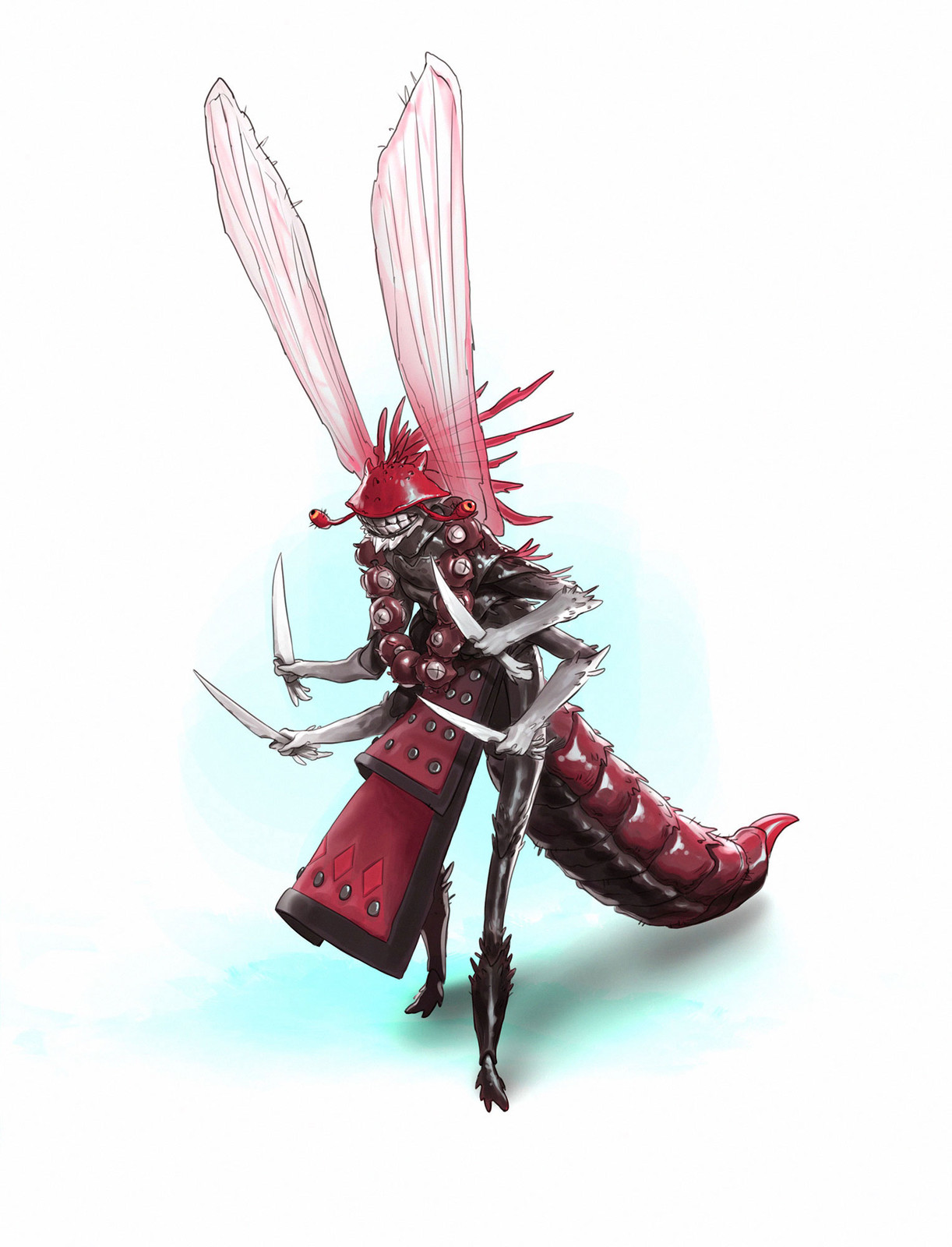 Insect Warrior for the CDChallenge