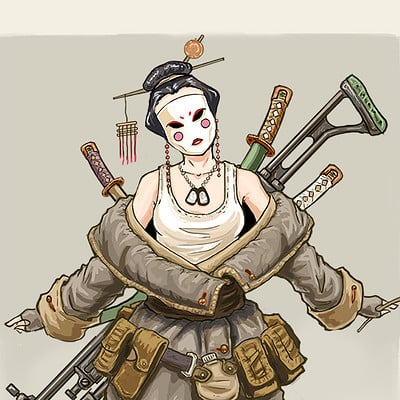 J chapman geisha2