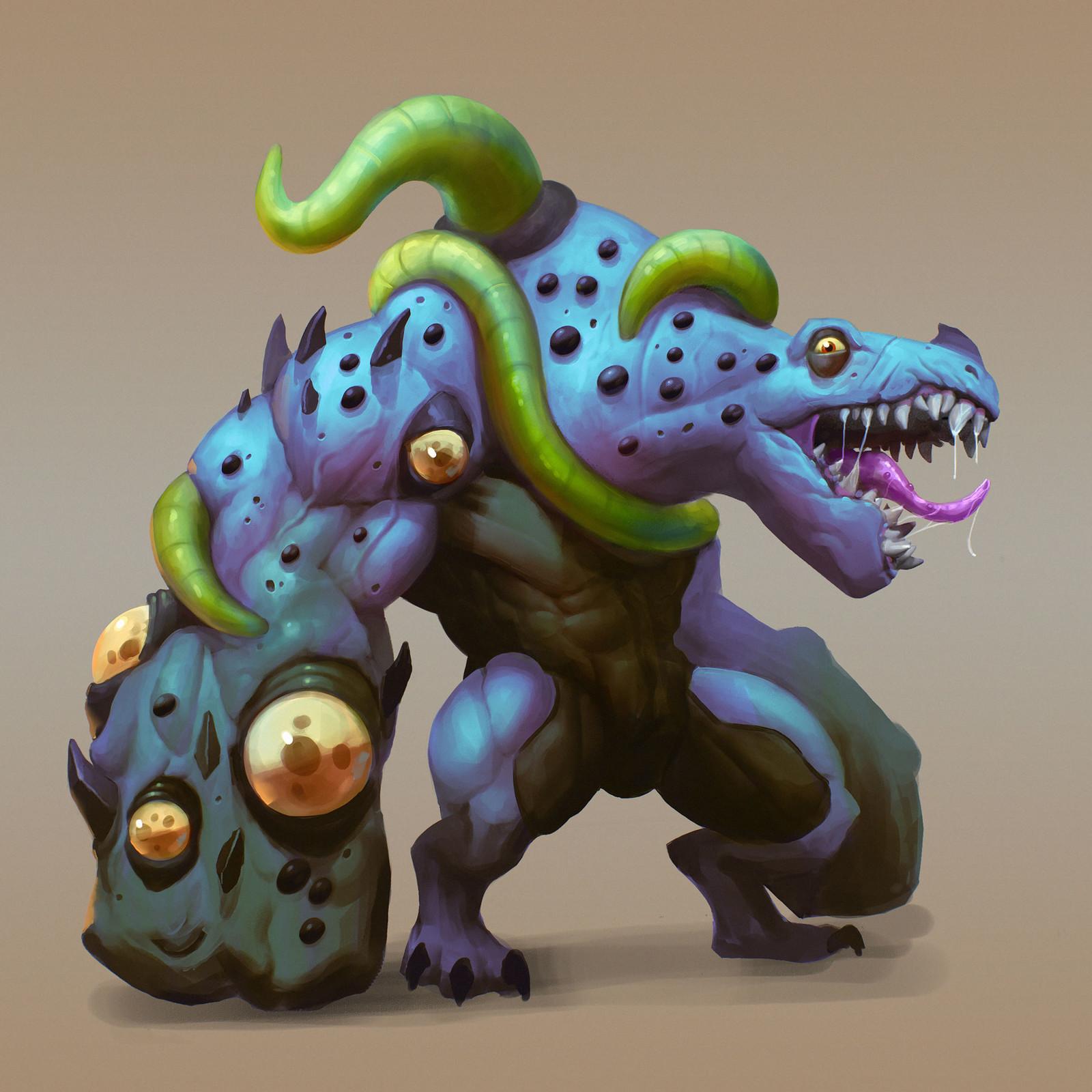 Infected Lizardman