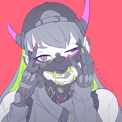 Koyori n oni mask 3