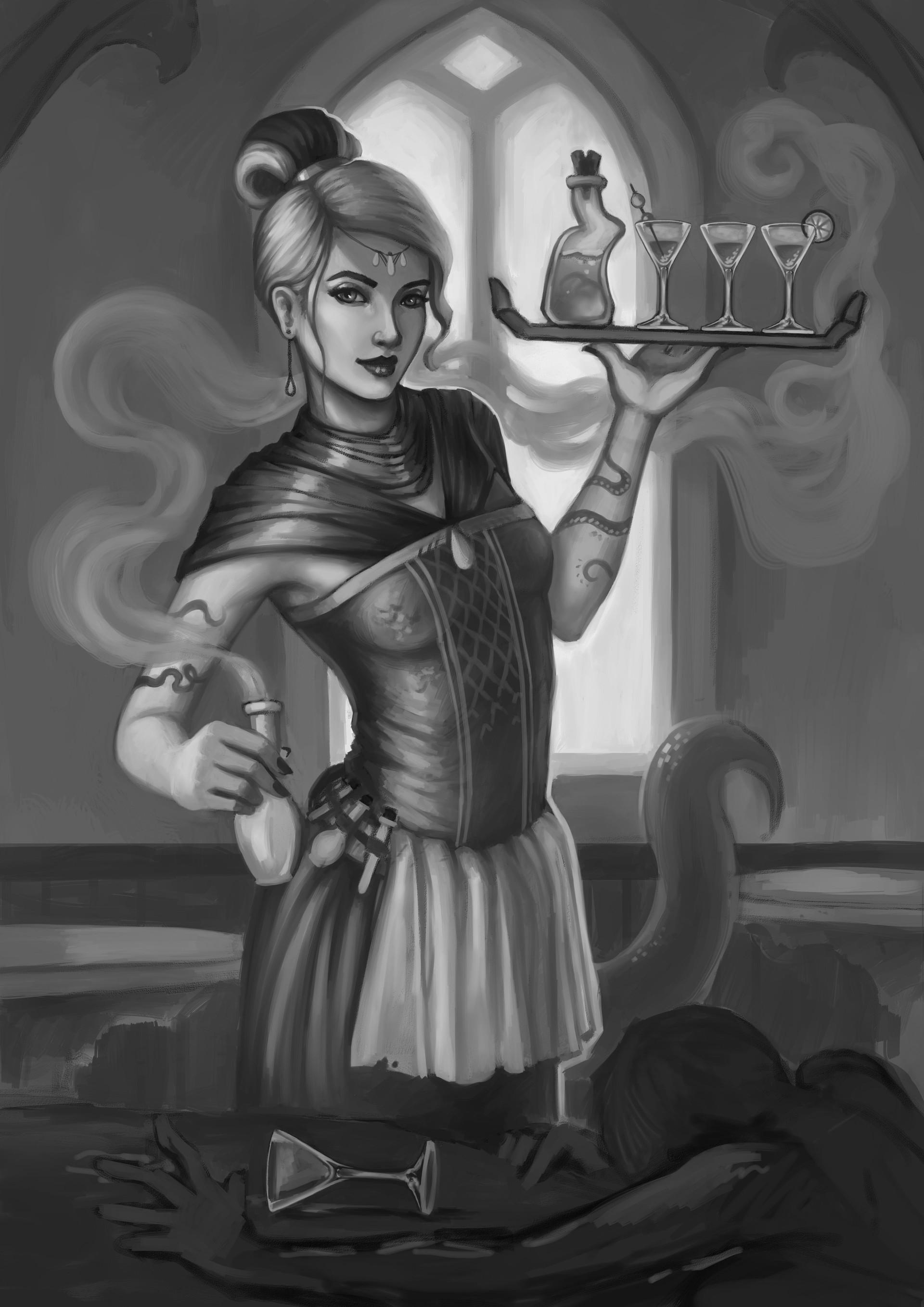 Barbara lucas poison waitress