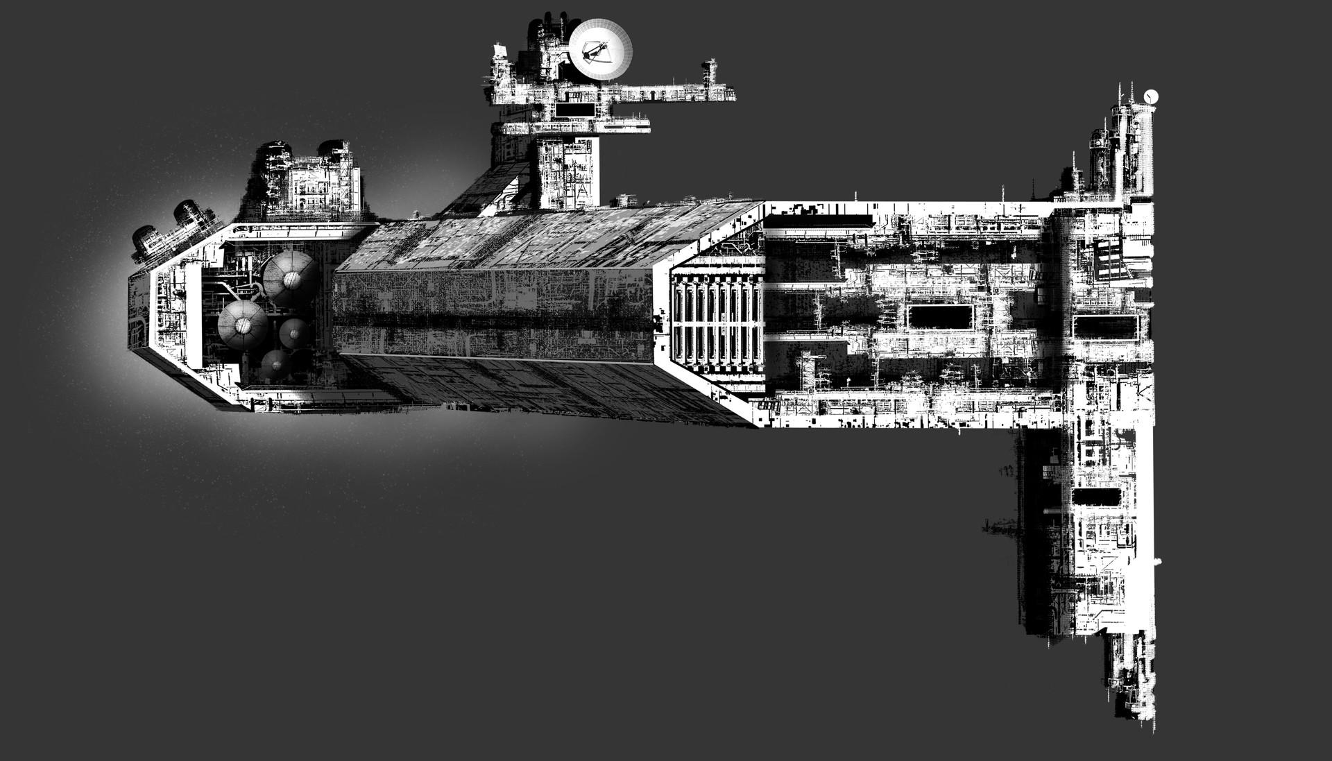 Micah brown deep space exployer vessel templet