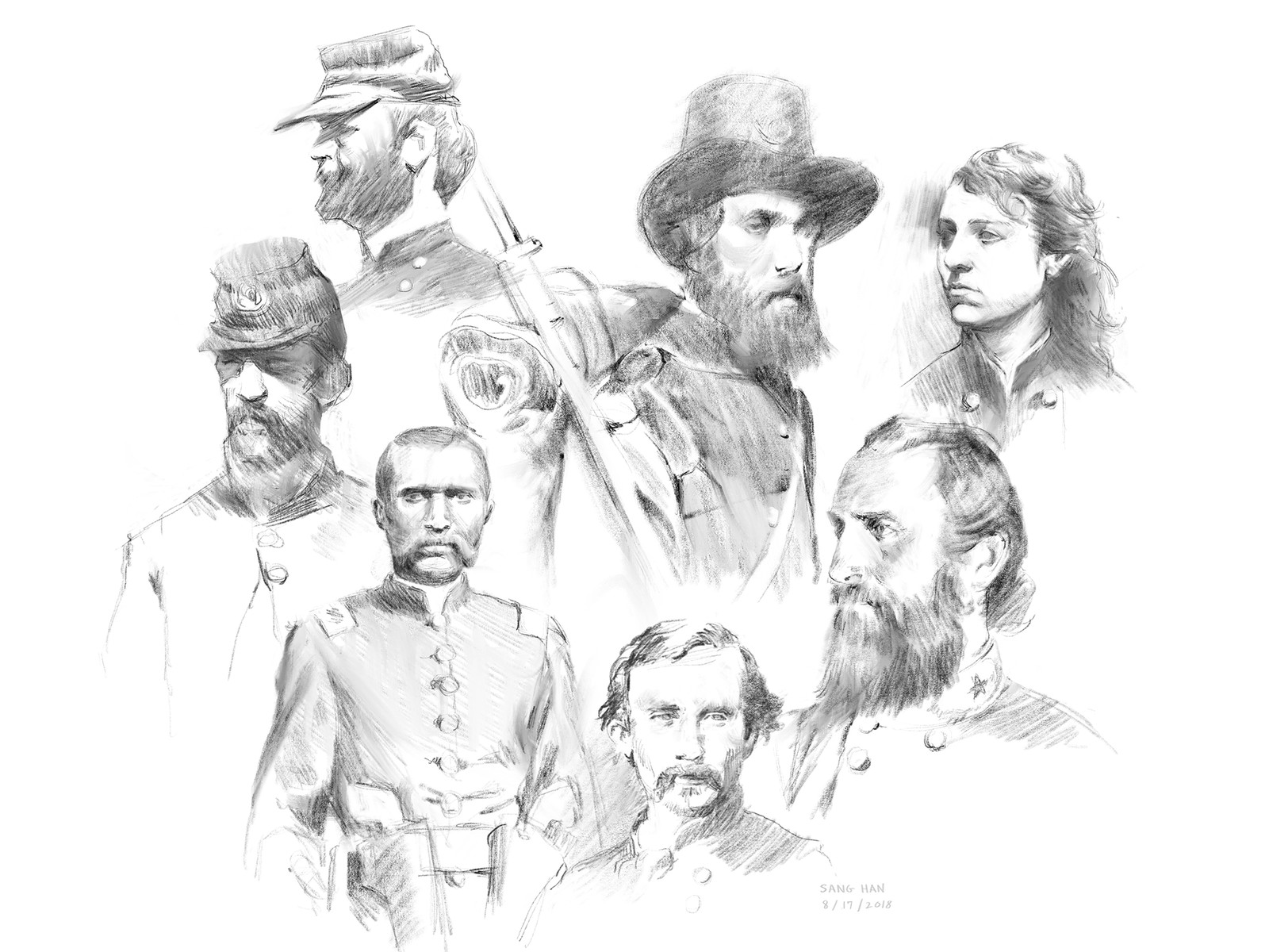 Civil War Portraits