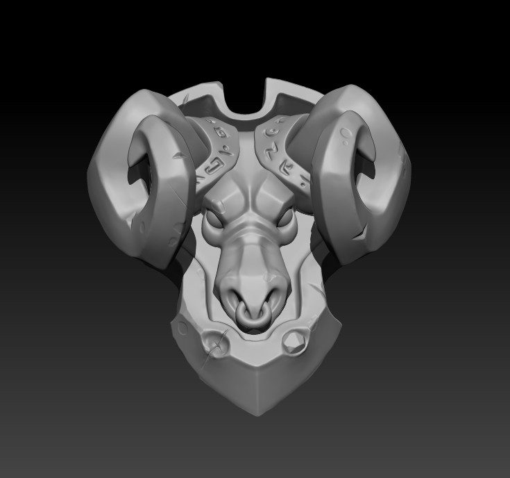 First sculpt in Zbrush