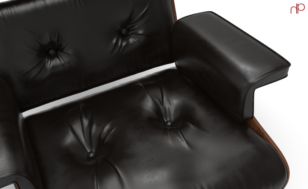 Cushion detailing was refined in ZBrush