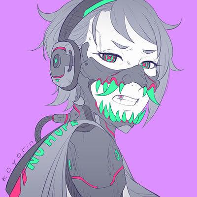 Koyori n oni mask 4