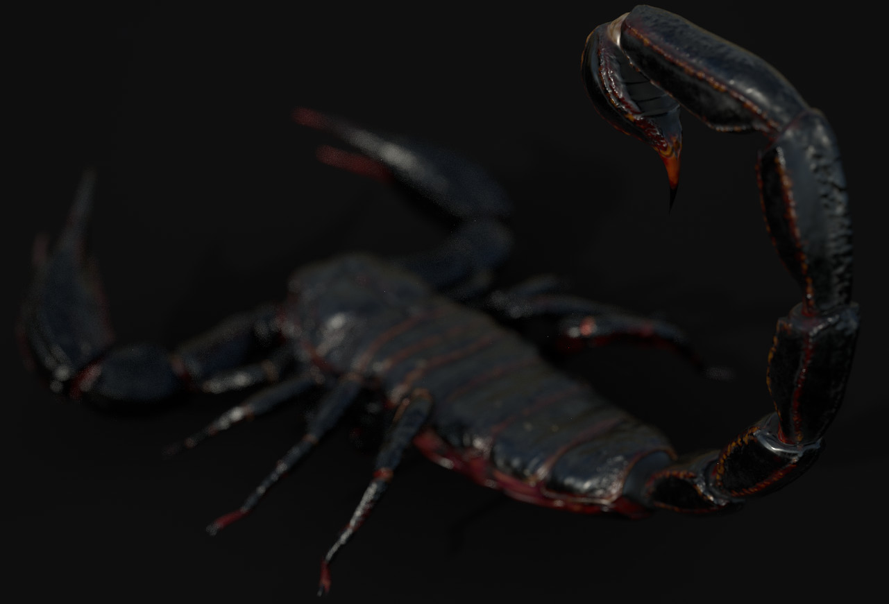 IRay render in Substance to check the textures on rendering.
