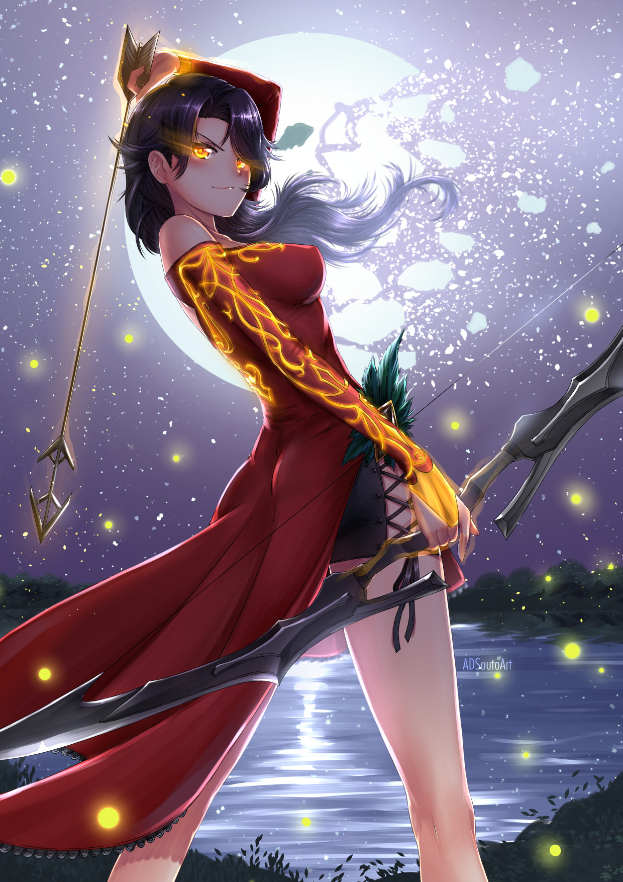 Artstation Summer Time Cinder Fall Alexander Souto After getting hit into a river, cinder finds herself being saved by ruby rose, the leader of team rwby. summer time cinder fall alexander souto