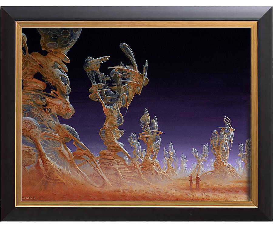 Arthur haas translucence framed small