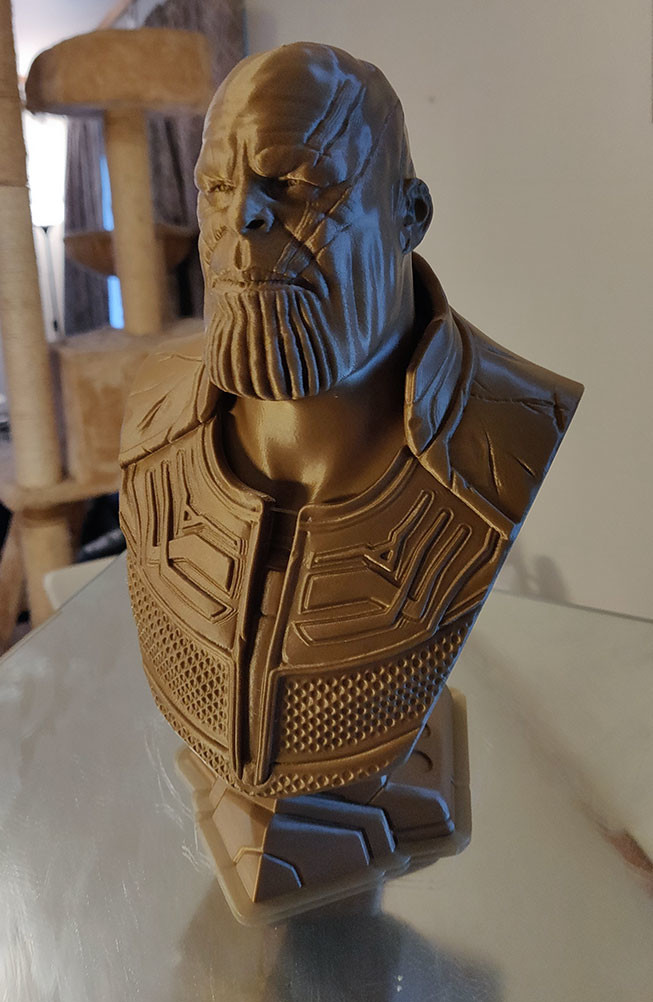 Thanos finished printing