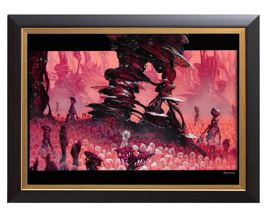 Arthur haas redwoods framed small