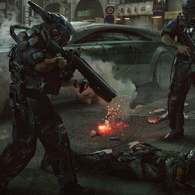 Eddie mendoza the robot riots