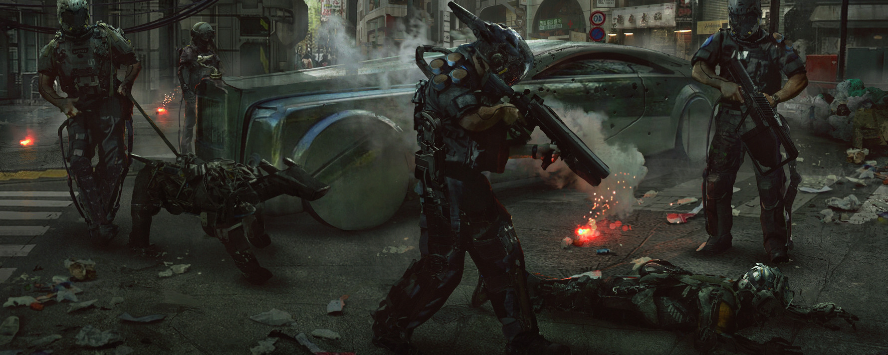 Eddie mendoza the robot riots