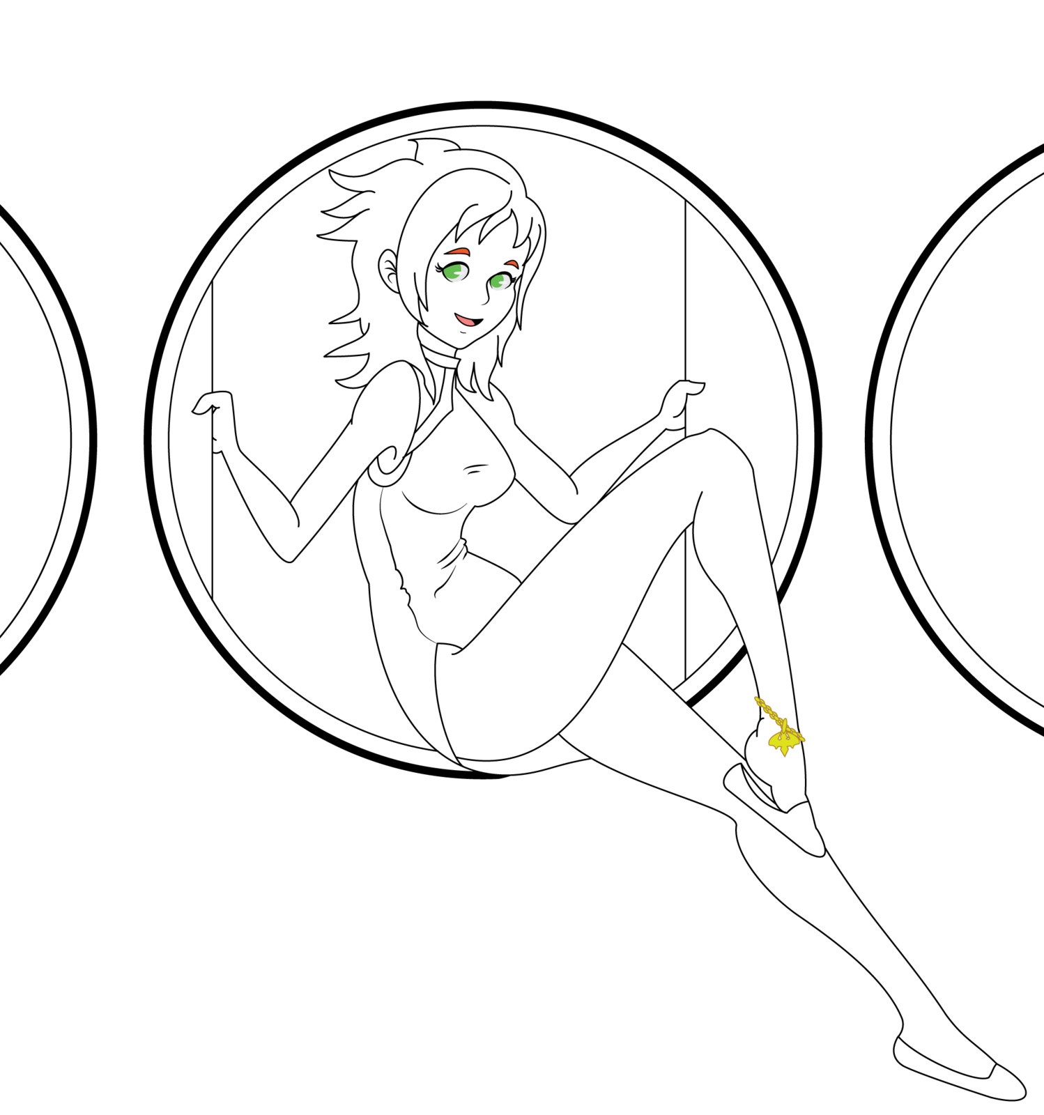 Line Art before coloring