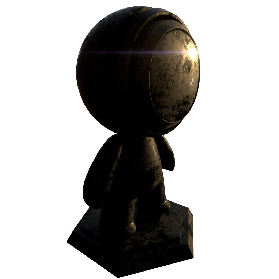 Jeremiah clark 20180903 black weathered metal