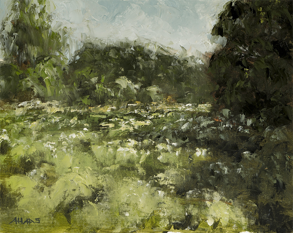Arthur haas second pleinair small