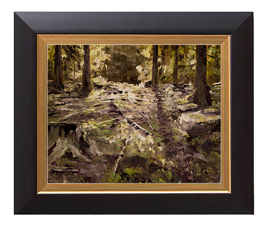 Arthur haas edge of light framed small