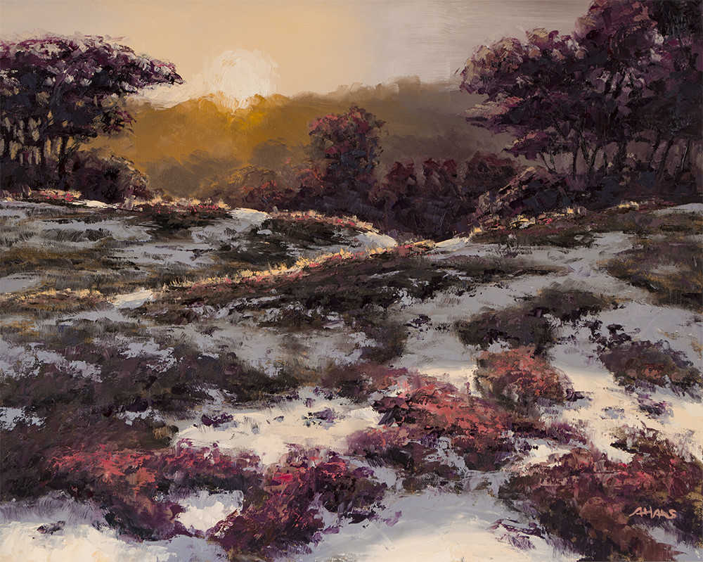 Arthur haas sundown on the heath small