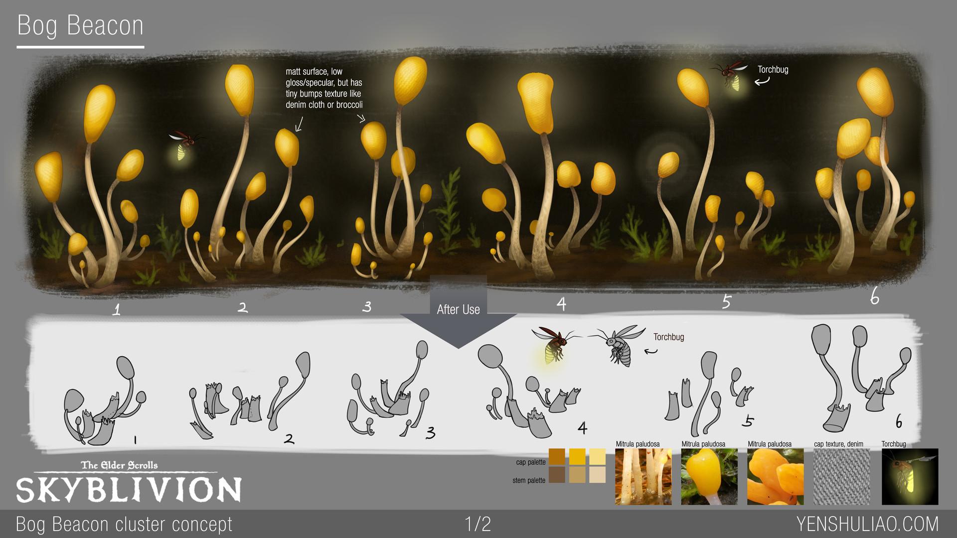 Yen shu liao mushroom environment prop concept yen shu liao skyblivion bogbeacon 01