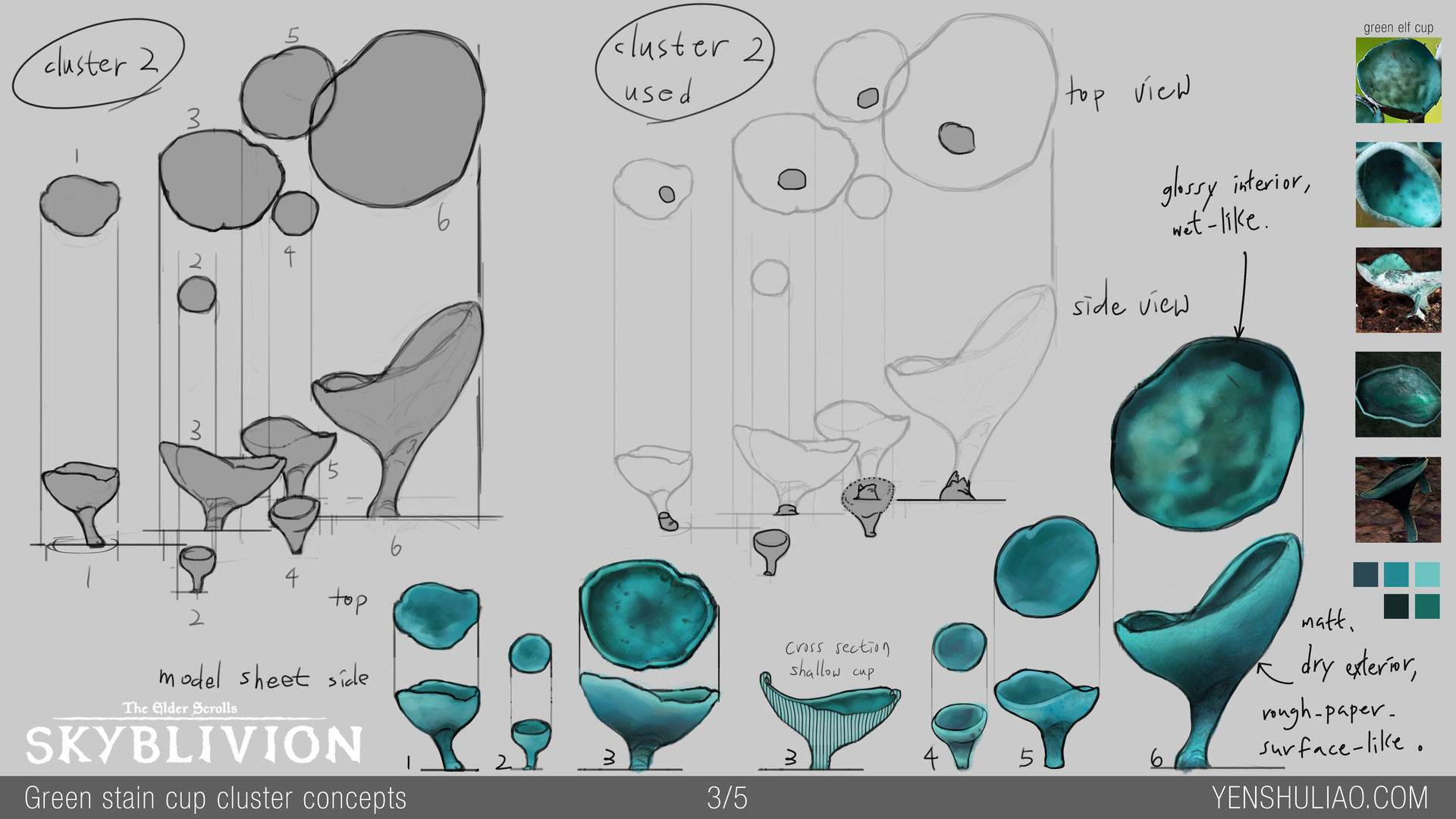 Yen shu liao mushroom environment prop concept yen shu liao skyblivion greenstaincap 03