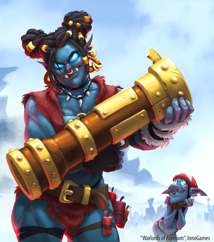 Warlords of Aternum: Gozura