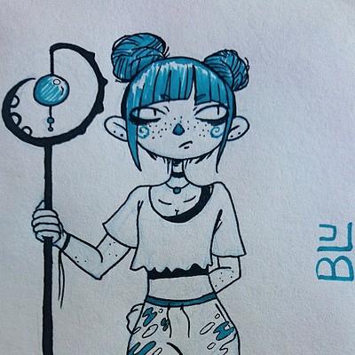 Amy seaman coloursketch blu