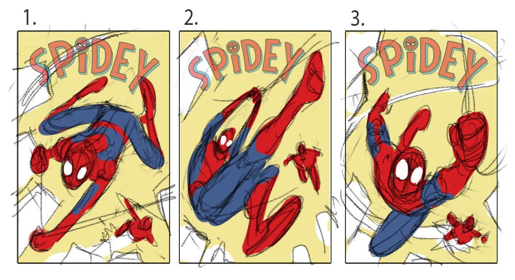 David nakayama spidey 06 layouts