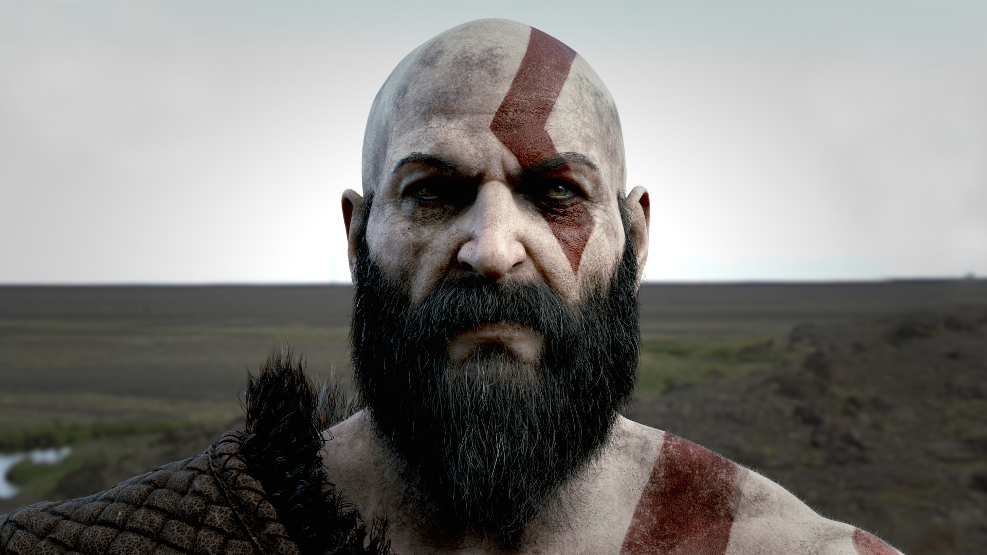 ArtStation - Kratos, ANIMAL PASK