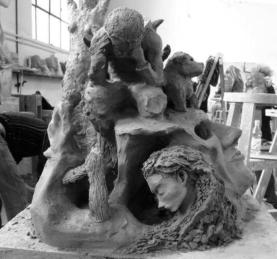 Stressed - Sculpture One