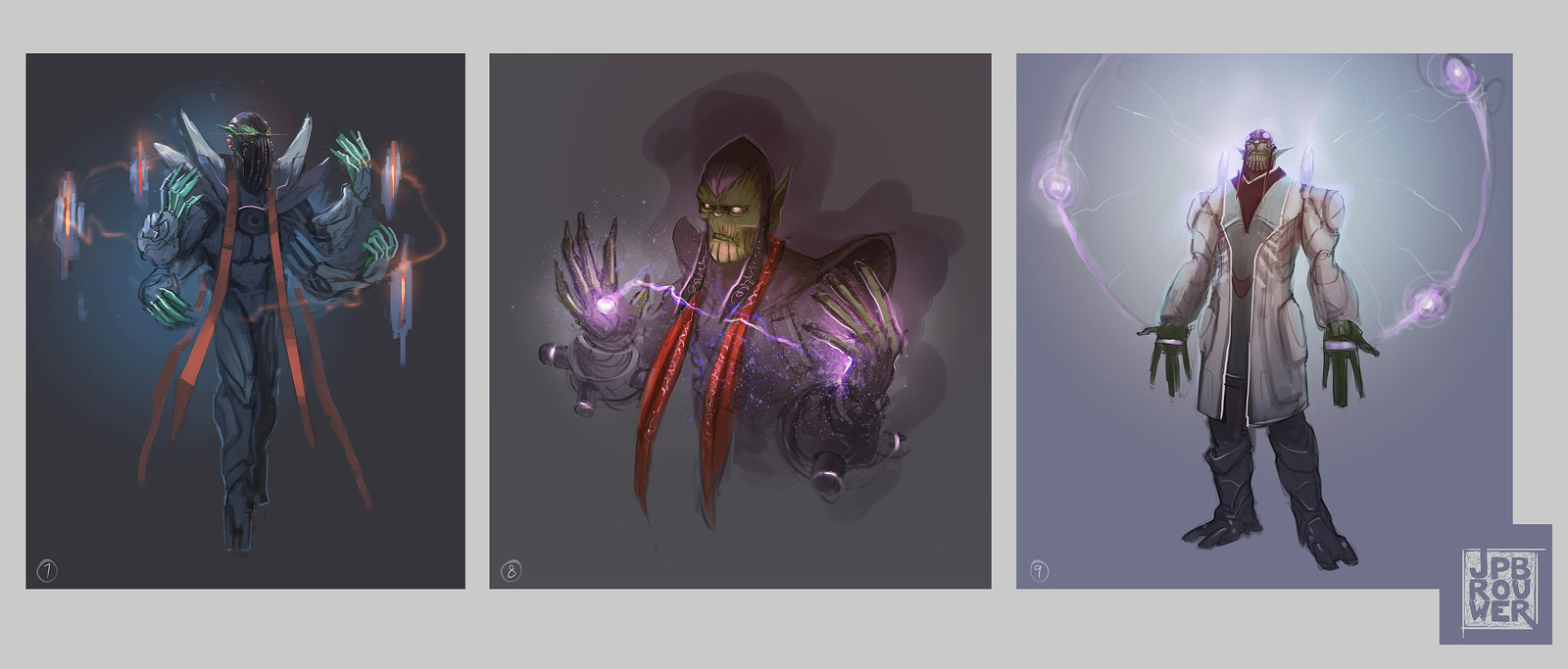 More Skrull priest concepts