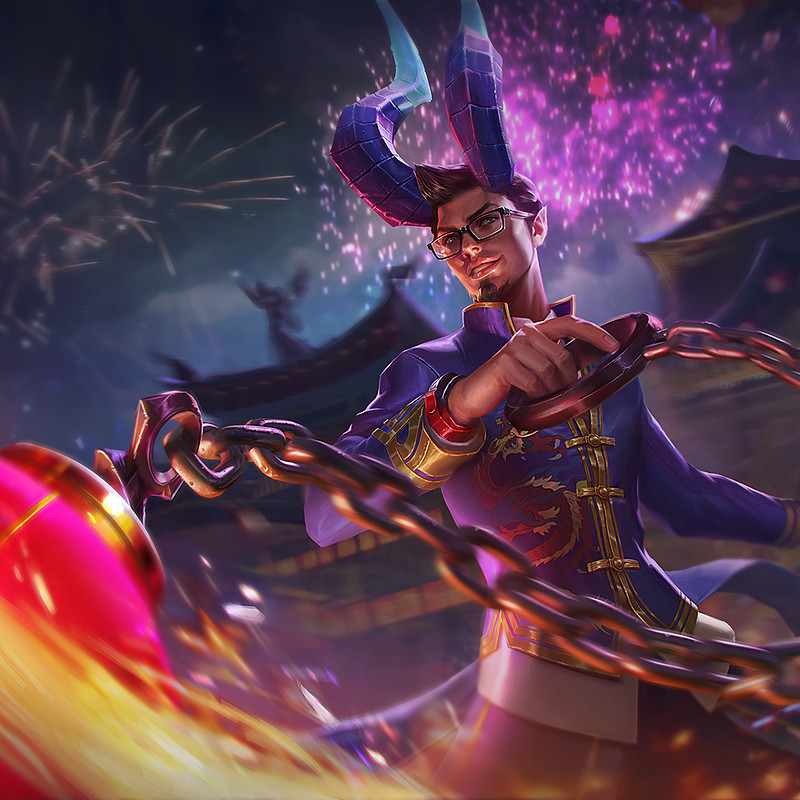 Vainglory: Red lantern Reza