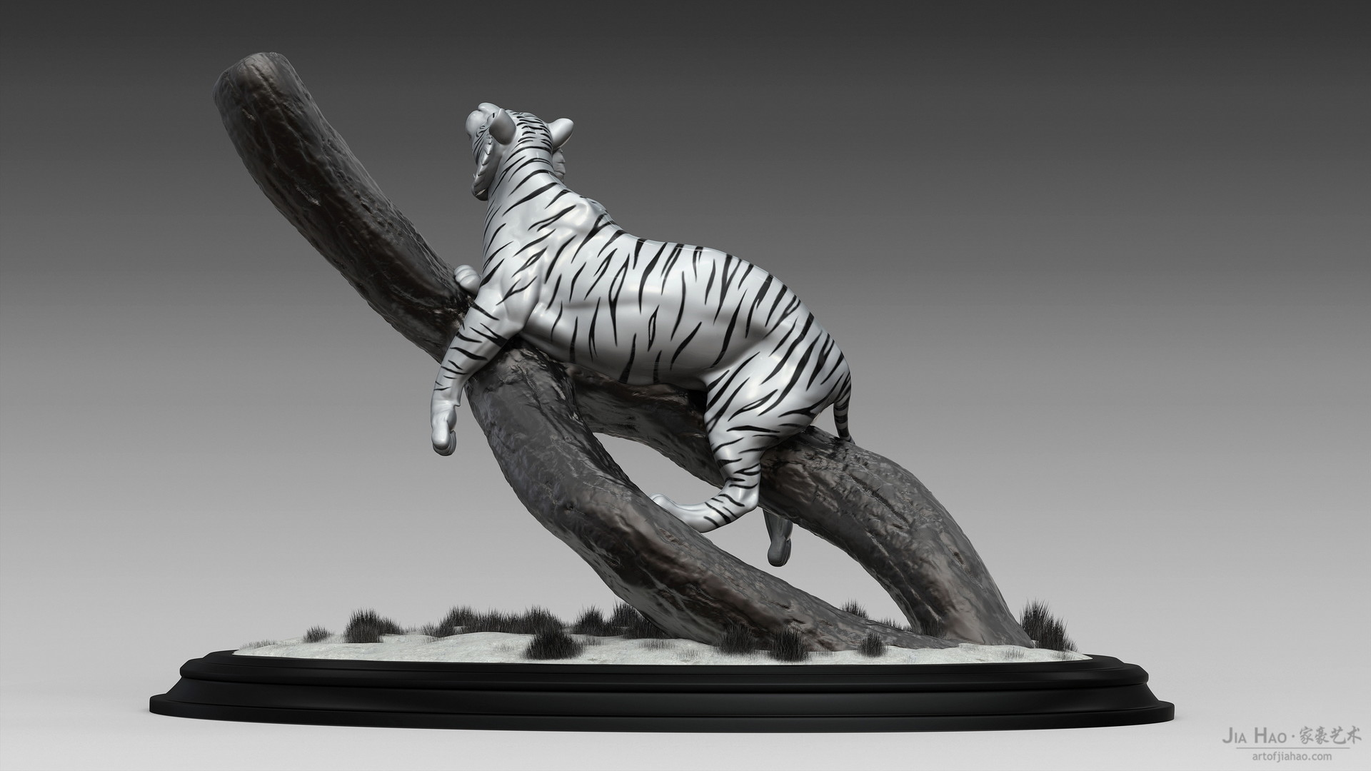 Jia hao tiger digitalsculpture 02