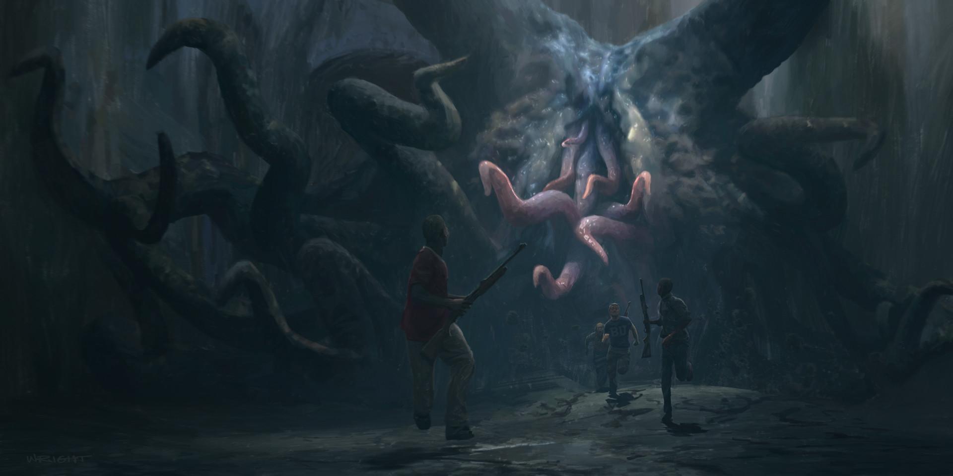 Richard wright cthulhu sewer monster
