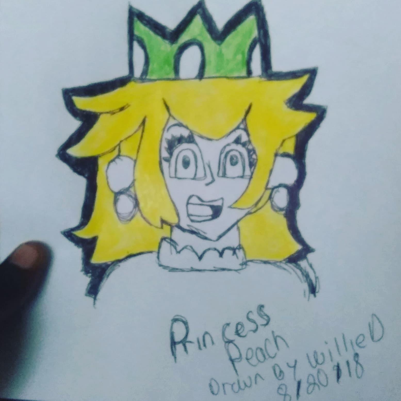 Artstation Princess Peach Fan Art Willie D Rogers